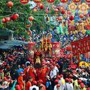 Chua Ba Ram Thang Gieng Festival (Full-moon Fes) 's picture