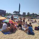 Picnic, Sports, Fun at Bogatell beach and la Mercè's picture