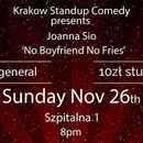 Standup comedy in English - Joanna Sio's picture