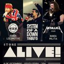 Stone Alive: System of Down, Metallica e Guns´n Ro's picture