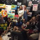 Paint&Sip with free flow wine's picture