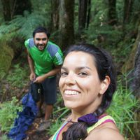 Pupa Kramcsak y Nacho Flores's Photo
