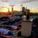 Chill yoga: sunset's picture
