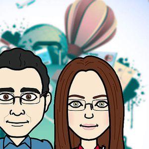 Laszlo and Timea Kara's Photo