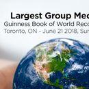 фотография Largest Group Meditation/Guinness Book of World Re