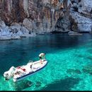 Rent a rubber boat for swim to Ischia and Procida 's picture