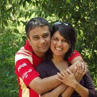 Sanjay and Deepa's Photo