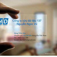 Cứu dữ liệu 137 Nguyễn Ngọc Vũ's Photo