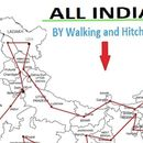 All india hitchhiking and walking's picture