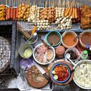 Street Food walking, cheap bar's picture