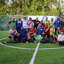 Friendly football match (Товар. матч по футболу)'s picture