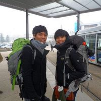 Jiwon and  Sunyoung's Photo
