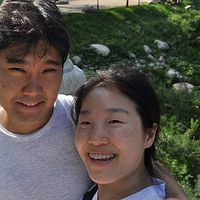 Matthieu and Jiyeong Gimeno's Photo