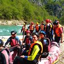 Rafting on the Neretva river's picture