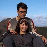 Yelena and Roman Mikov's Photo
