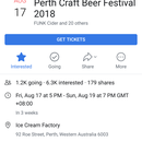 Perth Craft Beer Festival 's picture