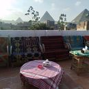 Iftar time in Ramadan At Rooftop With Pyramids 's picture