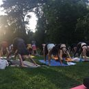 Yoga on open air with Ivan's picture