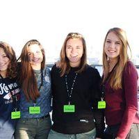Marine,Maeva and Alice Berry, Bragoni and Roy- Tosello's Photo