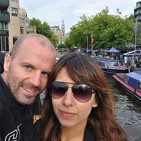 Valeria Vega and Maxime Chambreuil's Photo