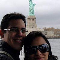 Photos de Mari Paraguassu e Anderson Briglium