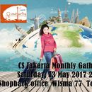 CS Jakarta Monthly Gathering: Travelling&Shopping's picture