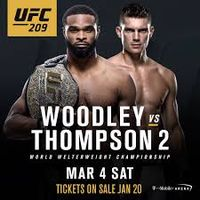 UFC 209L's Photo