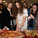Pizza lunch and English meetup with local teens's picture