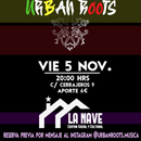Live concert UrbanRoots en LA NAVE 5 Nov's picture