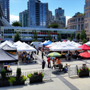 Vancouver Downtown farmer's market and lunch's picture