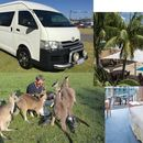 Weekend road trip up coast, kangaroos, kite surf's picture