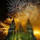 фотография Santiago de Compostela Fireworks 2018