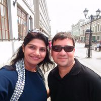 Umang and Jigna Kapasi's Photo
