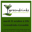 Green Drink @ La Vina - Tuesday 31 oct - 9pm's picture