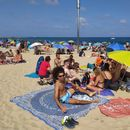 Easter Picnic, Music, Sports at Bogatell beach's picture