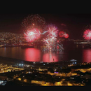 Foto de fireworks Valparaíso 2018.